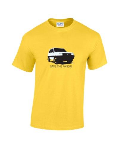 save-the-panda-de-coche-retro-camiseta-amarillo-amarillo-medium
