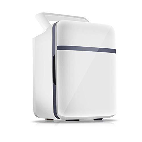 DLDL Mini congélateur de Table et glacière électrique Portable, CA + CC/Silencieux/Réchauffeur et Refroidisseur 2 Modes/réfrigérateur de Voiture Mini glacière thermoélectrique,A