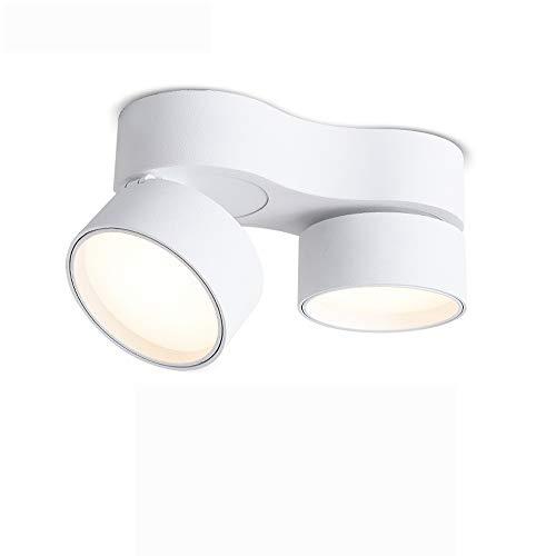 Skingk Faros dobles montados en la pared Lámpara de luz de techo...