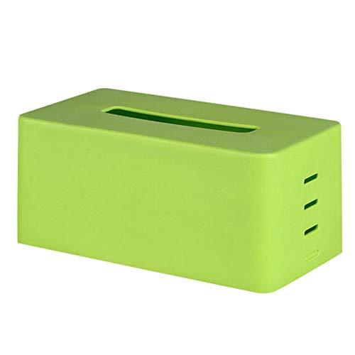 Efanhouy scatola porta fazzoletti, pratico porta fazzolettini e portatovaglioli in plastica per bagno, moderna ed elegante copertura per scatole di fazzoletti