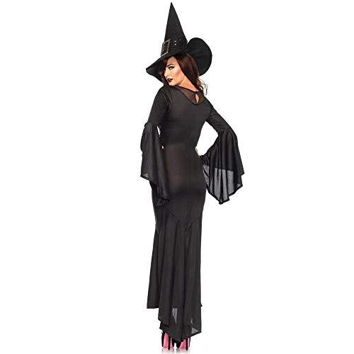 Demon Batman Kostüm - Fashion-Cos1 Halloween Sexy Womens mittelalterlichen viktorianischen Hexe Demon Outfit Kostüm Kleid Renaissance asymmetrische Kostüme