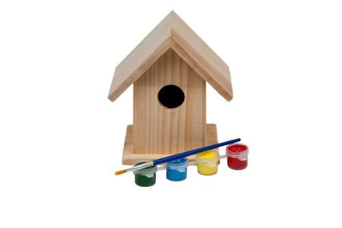 Vogelhaus/Nistkasten aus Holz zum Selbstgestalten