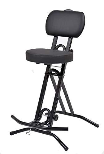 Stehhilfe Stehhocker Stehsitz Sitz Sitzhilfe Stehstütze mit 6 cm ergonomischer Polster bis 130 kg belastbar NEUHEIT