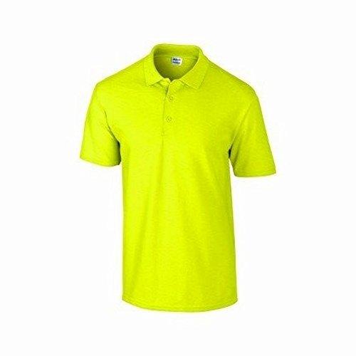 Gildan DryBlend Herren Pique Polo-Shirt, Kurzarm Marineblau