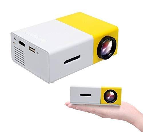 JMD YG-300 Mini Portable (600 Lumens Video 1080P)High Resolution LED Projector