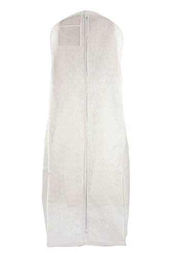 Sacs pour moins de neuf taille XL respirant Sac de Vêtement Robe de mariage blanc