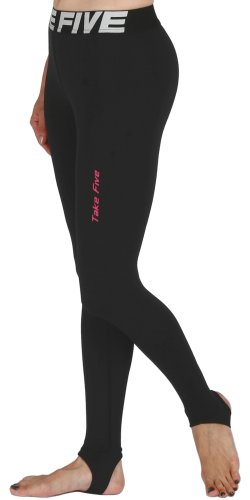 new-105-pelle-leggings-calze-a-compressione-strato-base-nero-pantaloni-da-corsa-da-donna-black-l
