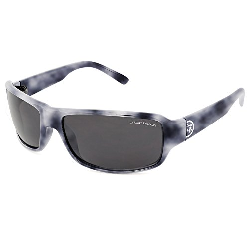 Urban Beach Men's Trinity Sunglasses Mottled Slate Grey