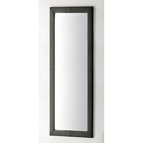 Espejo-de-pared-rectangular-tapizado-en-smil-piel-60-x-160-cm-color-negro-Sedutahome
