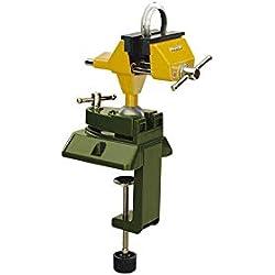Proxxon 28608 Étau mécanique de précision, Vert/jaun, extension 70 mm