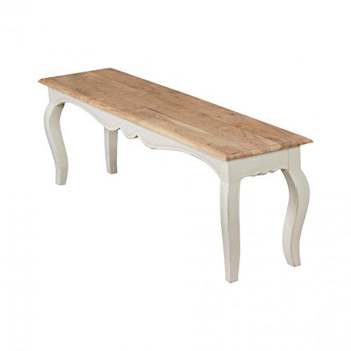 finebuy banco comedor de la vendimia masivas de x x cm banco moderno mango madera maciza el opio banco cocina blanca banco de madera maciza