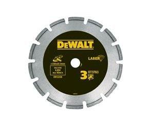 Preisvergleich Produktbild DeWalt Dia TS Laser 125x22.2x7.5x2 mm 1St DiaTS 125 Beton/Granit LASER HP