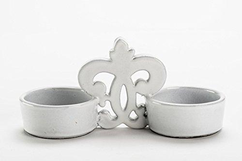 Forme Idea - Saliera Sale di Donana in ceramica artigianale adatta come regalo, liste di nozze, compleanno, manufatto creativo, di...