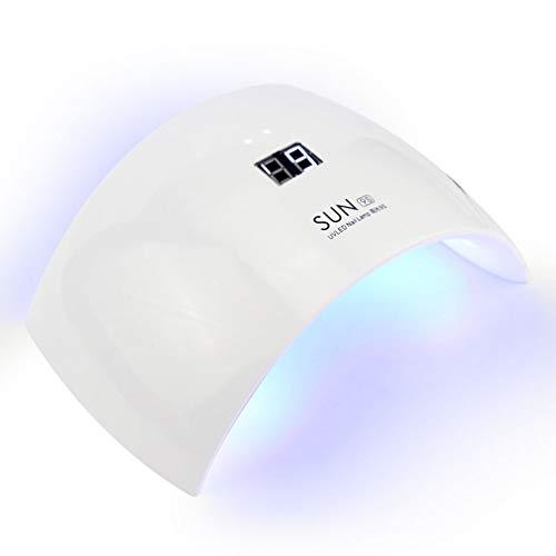 JIANG Intelligente Nagelmaschine, UV-Lichttherapie-Maschine führte Nagel-Lampe USB-Nagel-Phototherapie-Lampen-Nagel-Trockner, Zwei Zeiteinstellungen -
