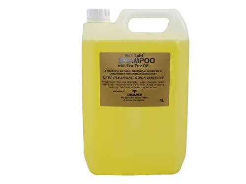 Gold Label Unisex's GLD0372 Stock Shampoo Tea Tree Oil, Clear, 5 Litre