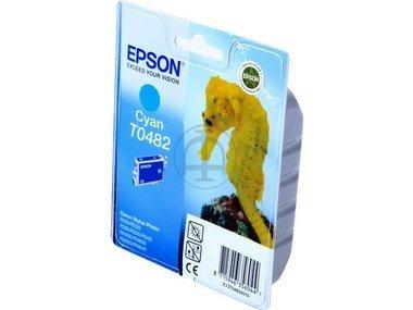 Epson Stylus Photo RX 500 (T0482 / C 13 T 04824010) - original - Tintenpatrone cyan - 400 Seiten - 13ml -