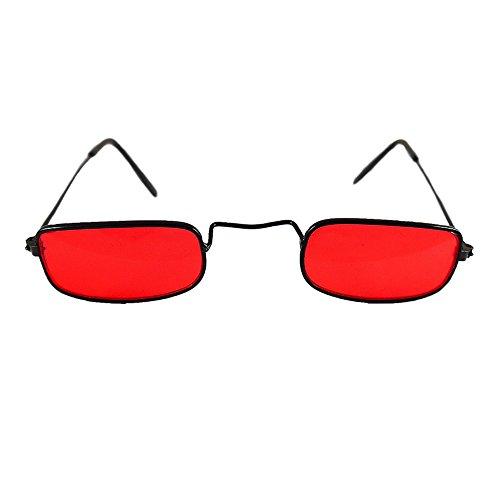 Halloween Party Kostüm Kostüm Zubehör Vampir Dracula Sonnenbrille Brillen Rot/schwarz