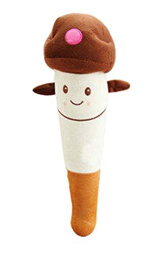 2 Stück Rückenmassage Spielzeug Plüsch Spielwaren Puppe, Braun Pilz (Bindegewebsmassage Massieren)