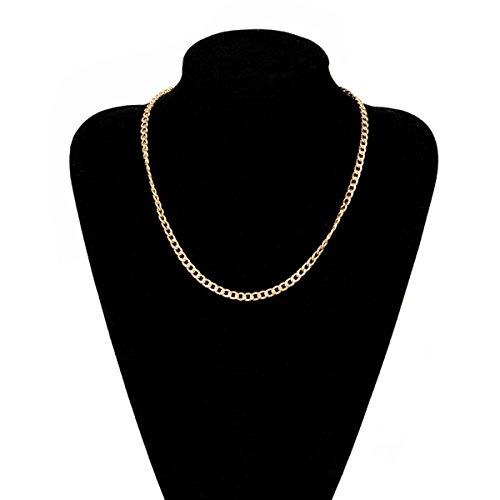 elegante-chapado-en-oro-collar-forma-curva-enlace-cadena-20inch