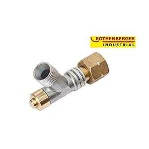 Rothenberger Industrial - Propan-Schlauchbruchsicherung - 1,5 bar - 035925E