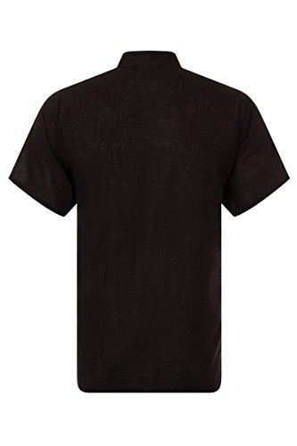 ThaiUK -  Camicia Casual  - Uomo Black