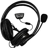 Imperial Tech: Black xbox 360 headphones headset with Mic live chat, XBox 360 Large Style Headset (Earphone & Mic) Online Gaming with Foam Ear Pieces for Comfort and Adjustable Mic Arm & Volume Control[Electronics]