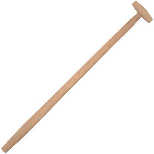 5 x Manche Fourche Fourche bêche Pelle Manche en bois manche T Poignée 38 mm de diamètre 100 cm