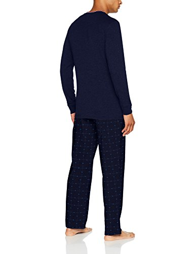 Alan Brown Herren Pyjama-Set Ah.Original.Pyk.Mz Blau (Marineblau / Blau)
