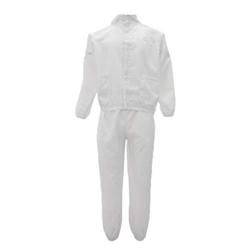MagiDeal Tuta Indumenti Protettivi Antistatici Abiti Costumo Riparazione Abbigliamenti da Lavoro Verniciatura
