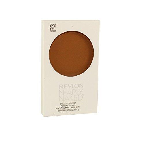 Revlon Nearly Naked Pressed Powder, Deep, 0.25 oz by Revlon (English Manual)