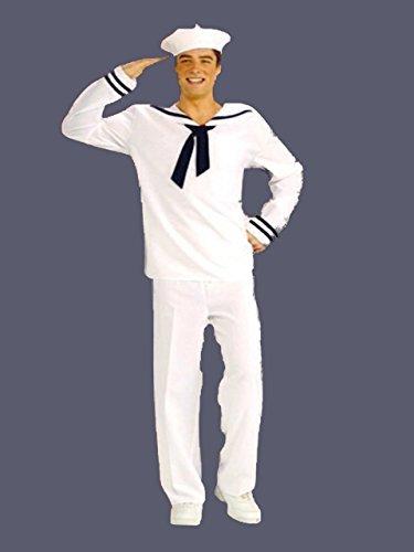 AHOY MATEY Erwachsene Sailor Kostüm GI (Joe Gi Kostüme Erwachsene Für)