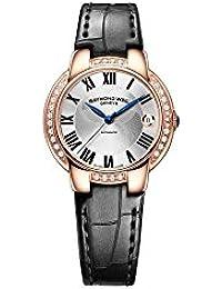 Jasmine de Raymond Weil de plata de la esfera del reloj Señoras 5229-PCS-
