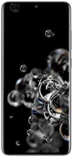 هاتف سامسونج جالكسي اس 20 الترا ثنائي شرائح الاتصال - 128 جيجا وذاكرة رام 12 جيجا من الجيل الخامس - لون رمادي