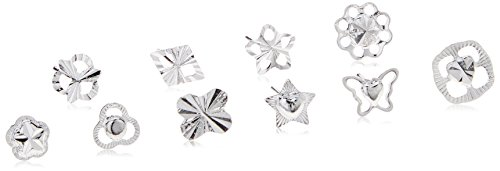 20-pairs-of-925-sterling-silver-womens-stud-earrings-by-kurtzy-variety-of-designs-included-in-storag