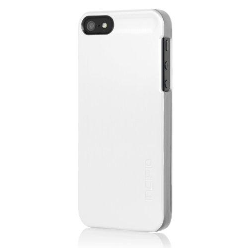 Incipio PH-805 Feather Coque pour iPhone 5  Noir Alu Look Weiß