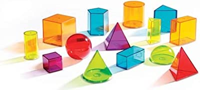 Learning Resources - View Thru Geometric Solids by Learning Resources