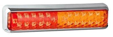 LED Autolamps 2 x arrière Remorque/caravn/camping-car Chrome Stop/arrière/indicateur lampe 12/24 V - 200 cstim