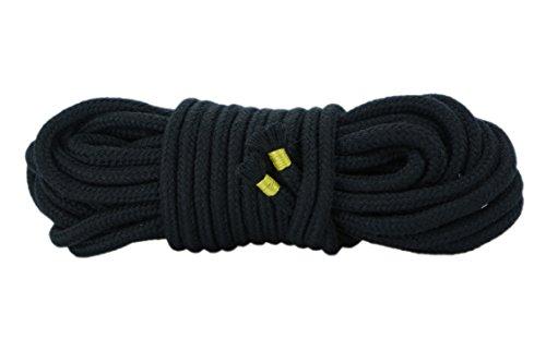 Bondageseil Bondage Seil schwarz 10m 8mm (Baumwollseil Rope 10 Meter)