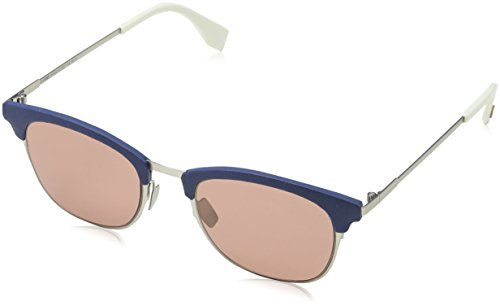 /S 4S J2B Sonnenbrille, Rot (Silver Red/Burgundy), 50 ()