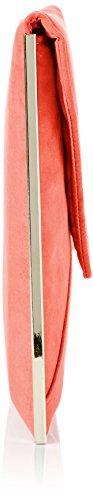 SwankySwans, Poschette giorno donna Arancione Corallo Neon coral