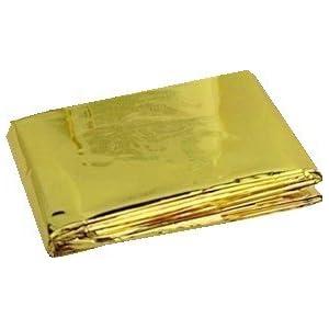 Rettungsdecke gold-silber 160 x 210 cm von Vitamed Matthias Quinger