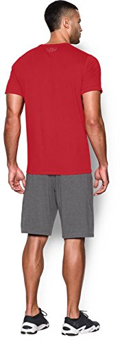 Under Armour Herren Fitness T-Shirt und Tank Charged Cotton SS T rot