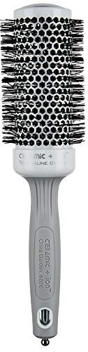 Olivia Garden Rundhaarbürste Ceramic + Ion 45, antistatische Ionen-Rundhaarbürste mit Keramikkörper und Nylonborsten, 45/ 60 mm -