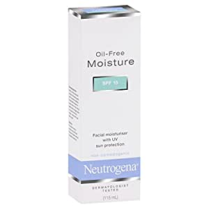 Neutrogena Oil Free Facial Moisturiser SPF 15, 115ml