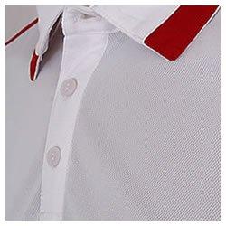 adidas Herren Poloshirt Shirt Tiro Polo Climalite Weiß - Rot