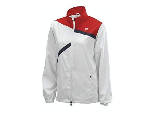 Wilson Oberkörper Bekleidung Rush Team Jacket Weiß