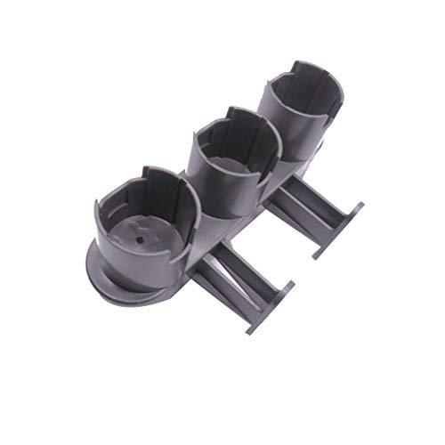 ToDIDAF Ersatzteile für Kehrroboter, Staubsaugerzubehör, Kein Stanzen Lagerung Bürstenkopfhalterung für Dyson V7 V8 V10 V11 Staubsauger