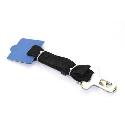 Auto Hunde Sicherheitsgurt Hundegurt Sicherheitsgeschirr Schwarz 2,5 x 70 cm - 2