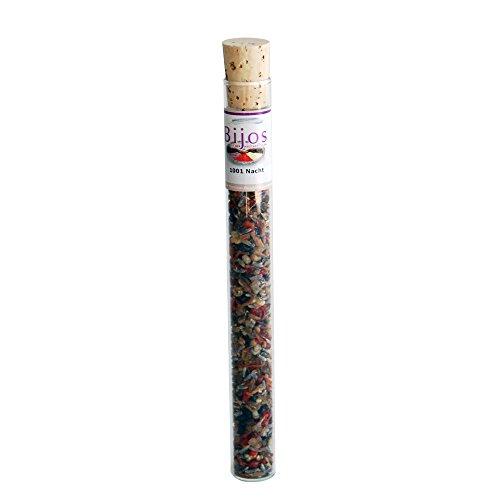 Bijos Räuchermischung Räucherwerk in 35 ml Glasröhre 1001 Nacht - Harzmischung, kann Gedanken beruhigen und Ängste lösen