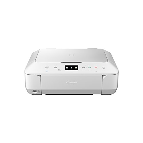 Canon Pixma MG6650 Multifunktionsgerät (Drucker, Kopierer, Scanner, USB, WLAN, NFC, Pixma Cloud-Link) weiß